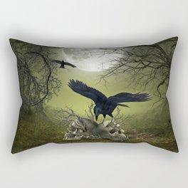 In the dark side Rectangular Pillow