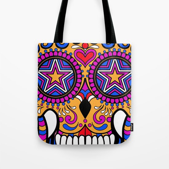 Sugar Skull #1 Tote Bag