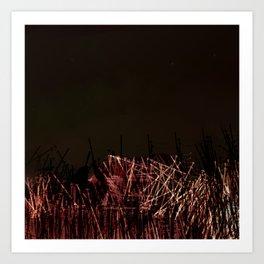 Prairie Nights Art Print