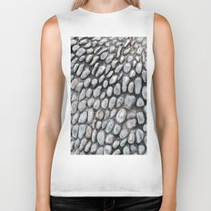 Stones texture #1 #decor #art #society6 Biker Tank