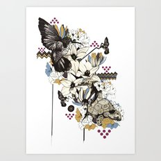 Hummingbird River Art Print
