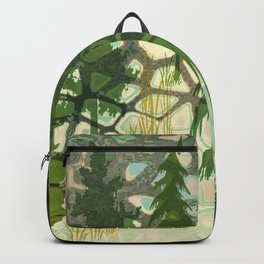 green fields Backpack