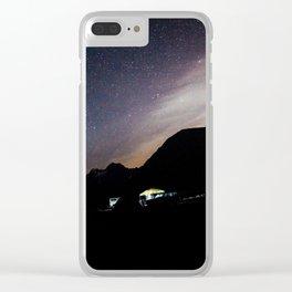 PNW Night Sky Clear iPhone Case