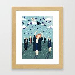 University Framed Art Print