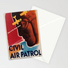 Vintage poster - Civil Air Patrol Stationery Cards