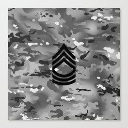 Master Sergeant (Urban Camo) Canvas Print