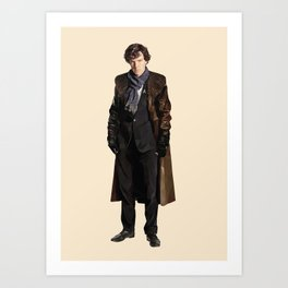 Sherlock Khan Holmes Art Print