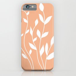 Simple  floral iPhone Case