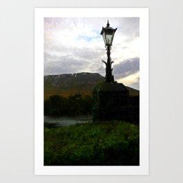 Irish Mist: Connemara Art Print