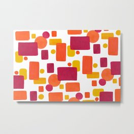 Colorplay No. 1 Metal Print