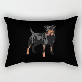 German Hound Geschenkidee Rectangular Pillow