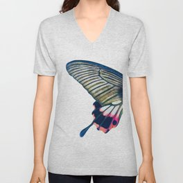 Butterfly left wing - find the right wing in my store :) Unisex V-Neck