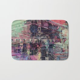 Totem Cabin Abstract - Multi Bath Mat