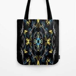 Abstract Silk Drawing Tote Bag
