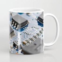 Electronic circuit board with processor Coffee Mug