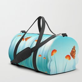 Spring Blue Duffle Bag