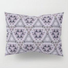 Pale Purple Pyramids Pillow Sham