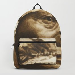 Chief Running Antelope - Native American Sioux Leader Backpack