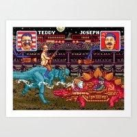 Jurassic President, Episode 26 – Stalin For Time Art Print