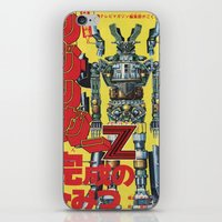 manga iPhone & iPod Skins featuring Manga 01 by Zuno