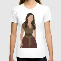 les miserables T-shirts featuring Eponine - Samantha Barks - Les Miserables minimalist with rain by Hrern1313