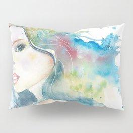 Rainbow Woman Pillow Sham