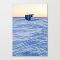 The fishing cabin Canvas Print
