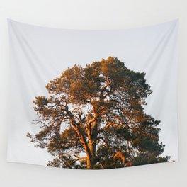 Half Tree Wall Tapestry