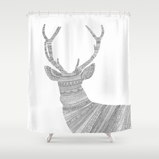 Stag / Deer Shower Curtain