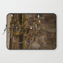 Alight with Enchantment - Chandelier Krakow, Poland Laptop Sleeve