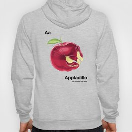 Aa - Appladillo // Half Armadillo, Half Apple Hoody