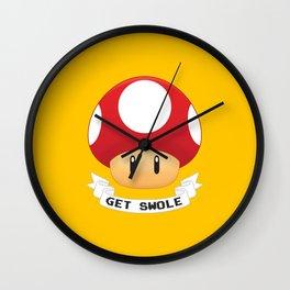 Get Swole Wall Clock