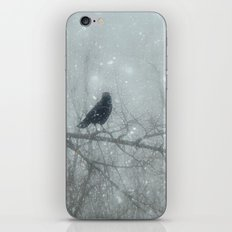 Wintry Crows iPhone & iPod Skin