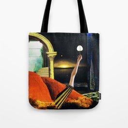 the dreamtime - collage Tote Bag