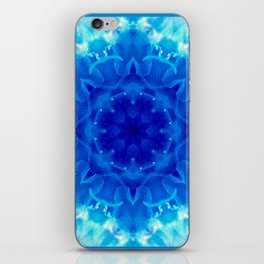 TURQUOISE JELLYFISH ROSE iPhone Skin