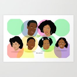 CR38 The Cosby Show Art Print