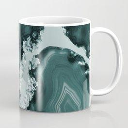 Teal Agate Pattern #1 #gem #decor #art #society6 Coffee Mug
