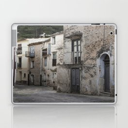 Sicilian Alley in Caltabellotta Laptop & iPad Skin