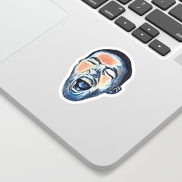 """""""GO:OD AM"""" - Mac Sticker"""