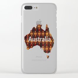 Tribal Shield Clear iPhone Case