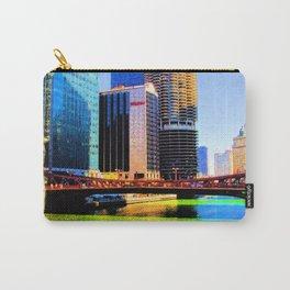 Clark St. Bridge, Chicago (Pop) Carry-All Pouch