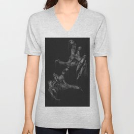 Death's Hands Unisex V-Neck
