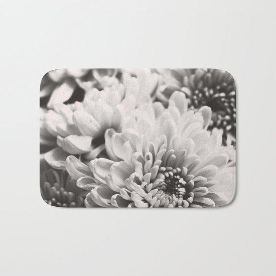 Soft flowers Bath Mat