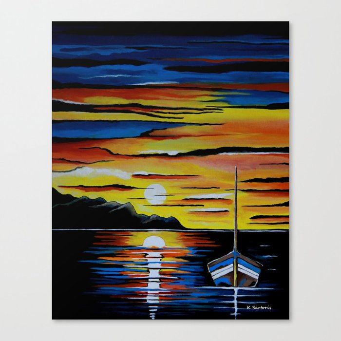 Escape To The Sea Canvas Print