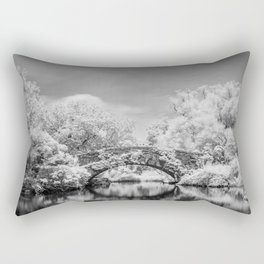 Gapstow Bridge, Central Park in Infrared Rectangular Pillow