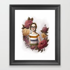 FLORALS Framed Art Print