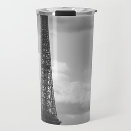 Eiffel Tower from rooftop of Galeries Lafayette Travel Mug