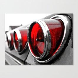 Impala taillights Canvas Print