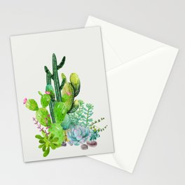 Cactus Garden II Stationery Cards