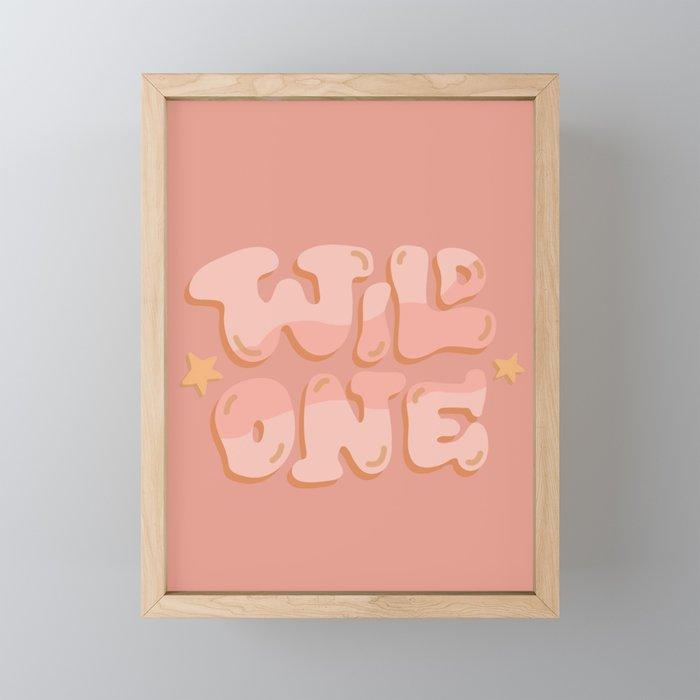 Wild One Framed Mini Art Print